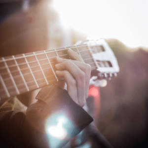 Open guitar chords