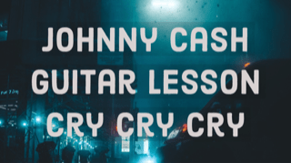 Johnny Cash Guitar Lesson